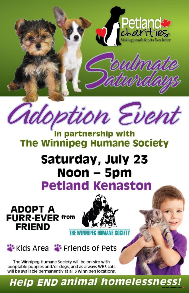 Petland Adoption Event - Soulmate Saturdays @ Petland Kenaston   Winnipeg   Manitoba   Canada