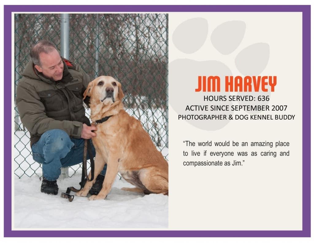 MVP January Jim Harvey