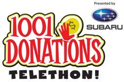 1001 Donations Telethon, presented by Subaru @ Winnipeg Humane Society | Winnipeg | Manitoba | Canada