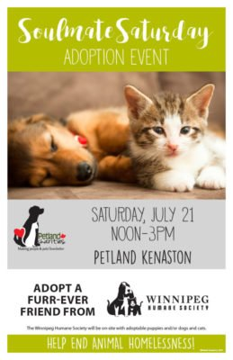Petland Adoption Event @ Petland Kenaston | Winnipeg | Manitoba | Canada